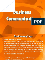 Business Communication - EnG301 Power Point Slides Lecture 15