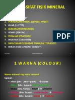 02(H24) MINERALOGI SIFAT FISIK MINERAL 2013.ppt