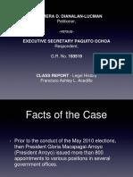 LEGHIS_Dianala-Luman v. Executive Secretary