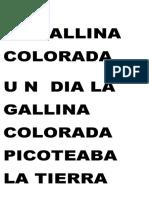 La Gallina Colorada