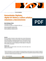 Digital Humanities Digital Art History A