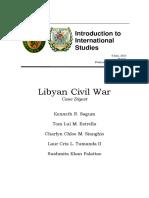 Case Digest Libyan War of 2011