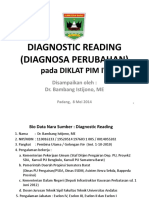 Diagnostic Reading Pim IV Prov (80515)