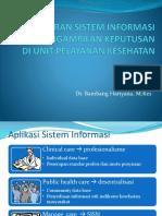 Aplikasi Sistem Informasi Di Rumah Sakit Dan Puskesmas