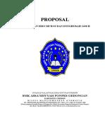 Proposal Peringatan Maulid Nabi Saw 2009