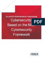 Cybersecurity NIST Audit Program_FINAL
