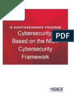 Cybersecurity NIST Audit Program_FINAL