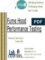 Fu Me Hood Performance Testing
