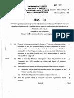 Business Law Ethics & Communication Nov13