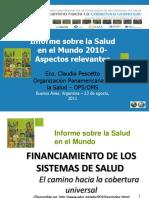 Informe Sobre la Salud Mundial 2010 (OMS-OPS).ppt