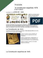 La Constitucion Historia