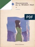 079. Anne Bronte - Necunoscuta de la Wildfell Hall vol.1.pdf