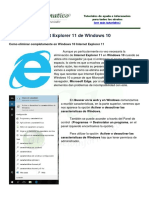 Windows 10 Desinstalar Ie11
