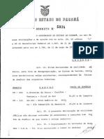 Decreto Governo do Estado do Paraná