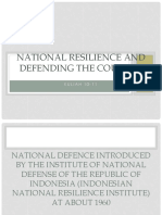 National Resilience