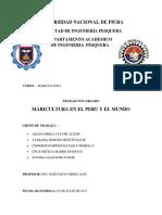 Maricultura en El Peru y El Mundo[1]