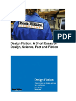 Design Fiction - A Short Essay on Design, Science, Fact and Fiction