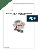 Dataman in System Programming of Iic Serial Eeproms