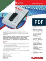 Dataman Mempro Specification