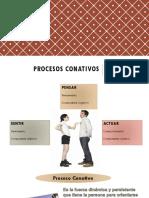 Procesos conativos
