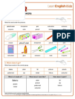 Worksheets Pencil Case Answers v2