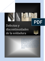 Defectos y Discontinuidades de La Soldadura Ensayo No Destructivos