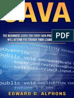 Java - Edward D. Alphons