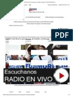 VIDEO _ Así Fue La Marcha Por El Indulto a Fujimori - EXITOSA NOTICIAS