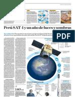 Perú SAT-1 y Un Año de Luces y Sombras