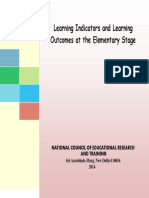 NCERT NCF Learning Outcome Indicators