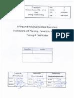 Lifting Procedure
