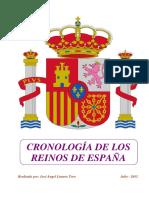 Cronologia Reinos España