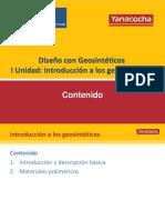 Geosintéticos - Unidad 1