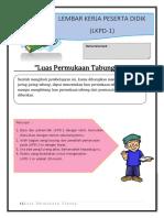 Contoh LKPD LP Tabung-1