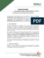 Convocatoria Base-1er Encuentro Internacional Conocimientos y Saberes Ancestrales en La Producción de Quinua