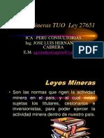 Leyes Explotacion Minera Peru