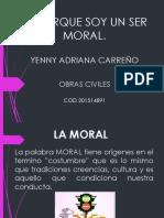 Porque Soy Un Ser Moral