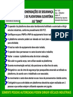 Upl563248-RS-25 Uso de Plataforma Elevatoriaa JLG DINO 4ª Edição