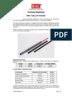 1.5-1 MMO Tubular Anode