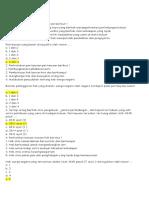 Soal Ulangan Harian PKN dan jawaban  Kd 3.4 (Hak& Kewajiban Wni)