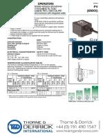 Asco Pv Emxx Solenoid Valve Operator II 2 g Ex Mb II t6..t3 II 2 d Ex Md 21 Ip67