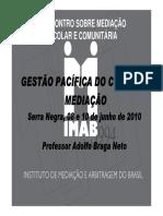 Mediação de Conflitos Adolfo Braga