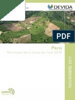 Peru Monitoreo de Coca 2016 Web