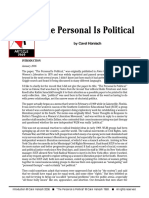 The personal is political (1969) - Carol Hanisch.pdf
