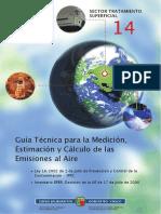 Guía Técnica de Medición de emisiones