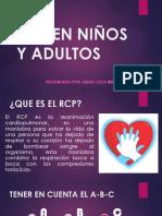 Rcp en Niños y Adultos