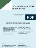 Patologías en Estructuras de Obras de Arte en Vias
