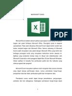 Berikut Adalah Laporan Hasil Dari Praktikum Dasar Pemograman 1 Dengan Materi Microsoft Excel