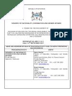 RFP Botswana