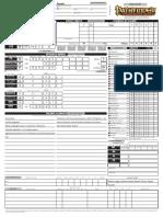 Schede Giocatore Editabile (Pathfinder)